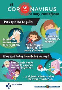 COLMUNA PREVIENE EL CORONAVIRUS